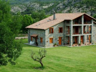 casa rural en el norte de los pirineos